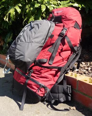 Esta es mi mochila para continuar mi viaje