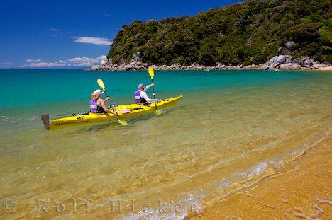 Abel Tasman en nuestro viaje por la Isla Sur de Nueva Zelanda