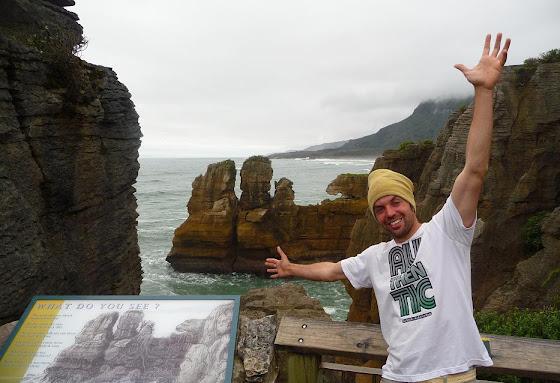 Aquí estoy yo en la Isla Sur