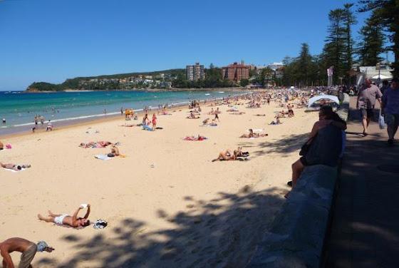 Así se ve el Bondi Beach