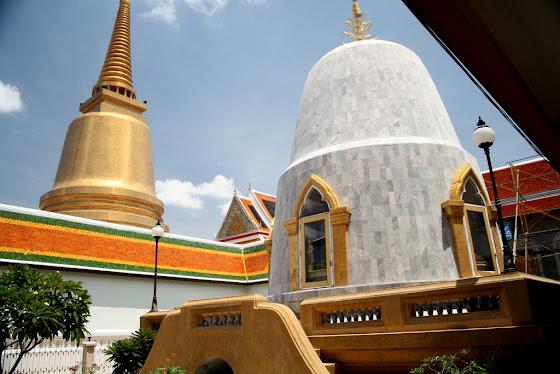 Los templos suelen ser muy suntuosos