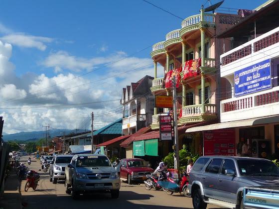 Así es el centro en Huay Xai en Laos