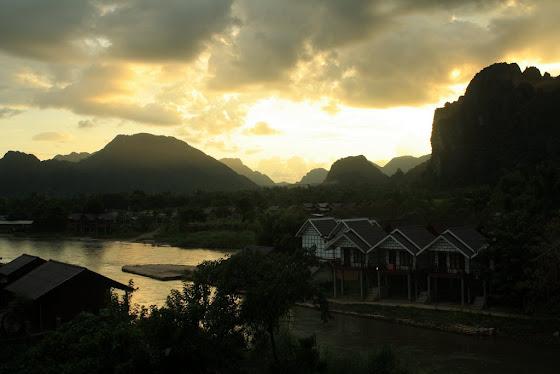 Vang Vieng en Vietnam