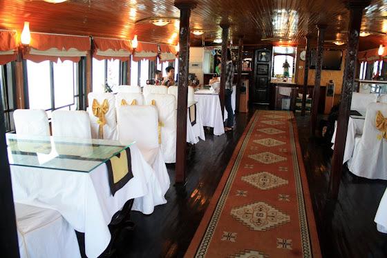 Así se ve el restaurante del Asia Cruise
