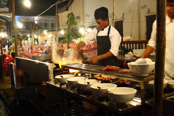 Comidas en Siem Reap, Cambodia
