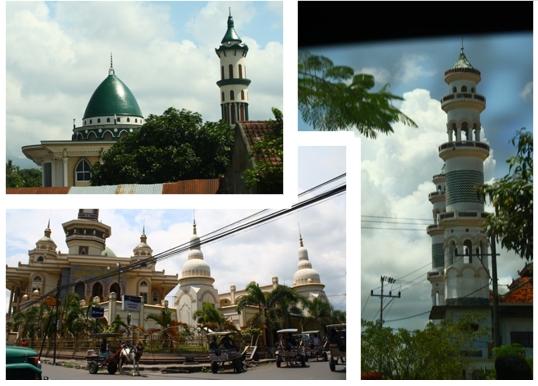 Mezquitas en Indonesia