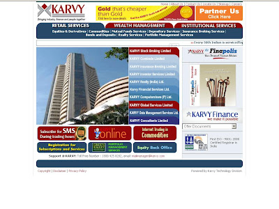 Karvy Online Trading - Karvy Stock Broking Limited
