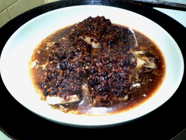 hungry tummies: Steamed Fish With Black Bean Sauce 豆豉蒸魚