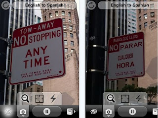 Word Lens iOS realtime language translator