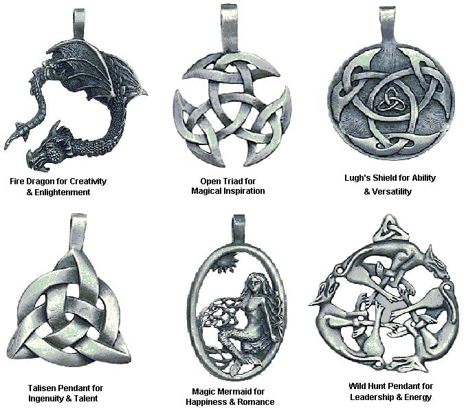 all of these pendent each have a special meaning and it tells you ...
