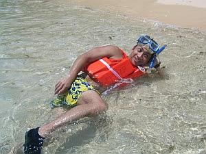 puerto galera snorkeing long beach