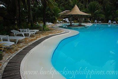 Caluwayan Palm Island Beach Resort Marabut Samar swimming pool