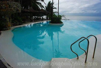 Caluwayan Palm Island Beach Resort Marabut Samar infinity pool