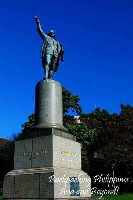 capt james cook monument hyde park sydney