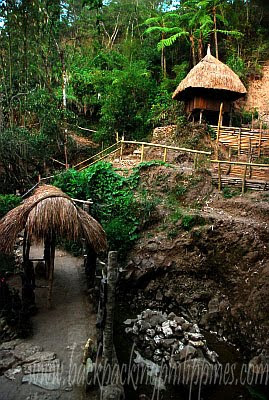 baguio igorot village native huts