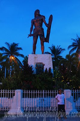 cebu mactan shrine lapu-lapu monument