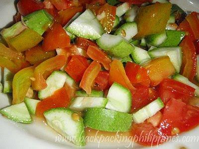 paho ensalada appetizer
