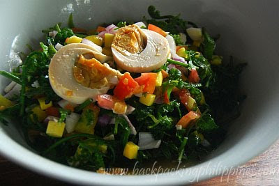 ensaladang pako fern salad