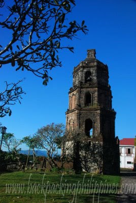 bell tower santa maria church ilocos sur