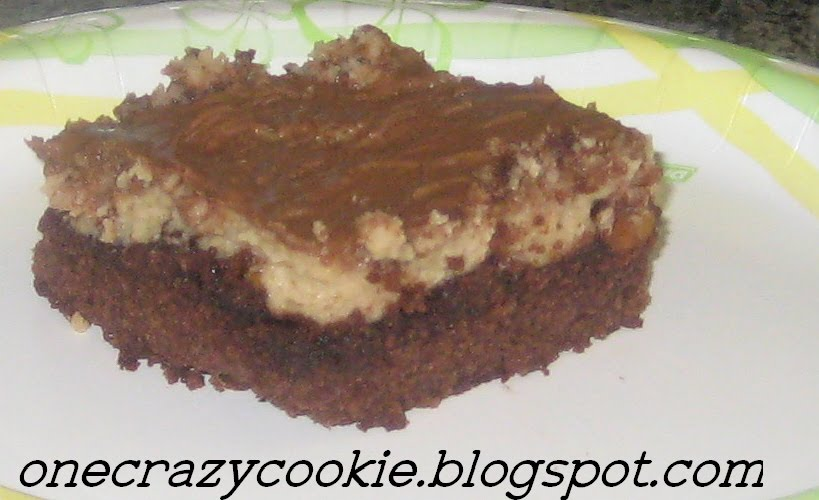 One Crazy Cookie: Peanut Butter Cheesecake Brownies