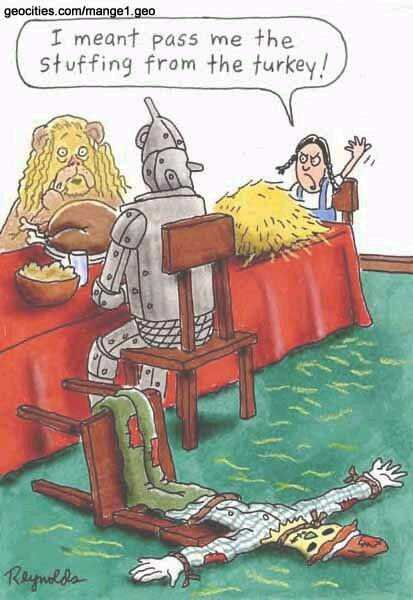 Happy Thanksgiving Cartoon