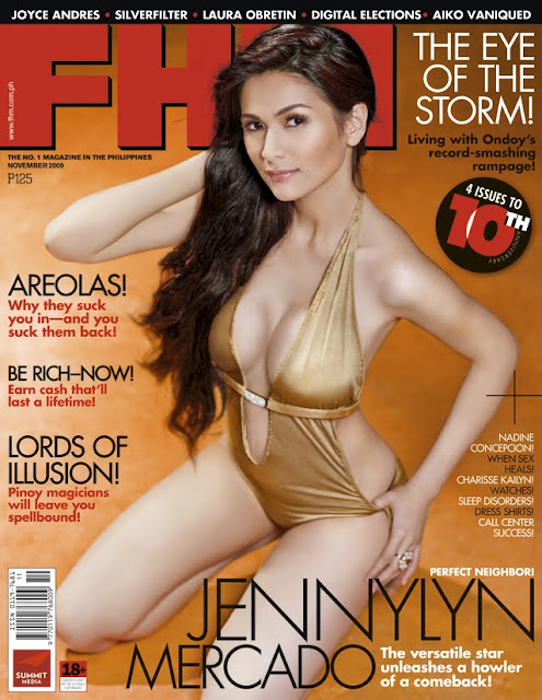 Jennylyn Mercado – FHM Philippines November 2009