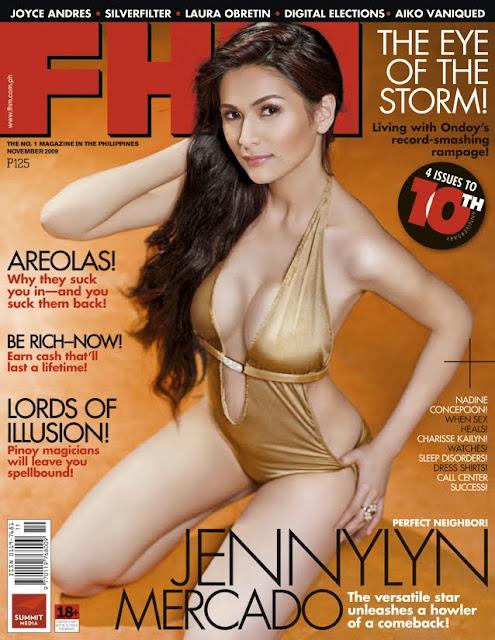 Jennylyn Mercado – FHM Philippines November 2009