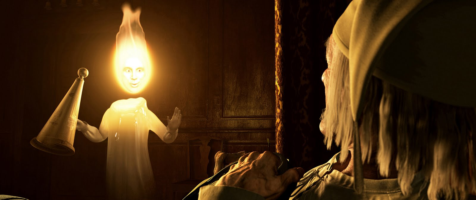 an analysis of the main characters in the film a christmas carol Ghost of christmas past: the first of the spirits foretold by marley who shows scrooge his past christmases ghost of christmas present: the second of the spirits foretold by marley that shows scrooge christmas celebrations in the present time.