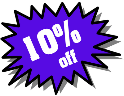 now and Christmas we'd like to offer you 10% off everthing you purchase!
