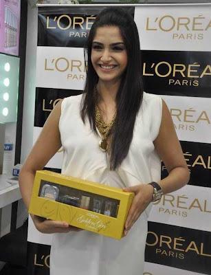 Sonam Kapoor at launch of Golden Girl