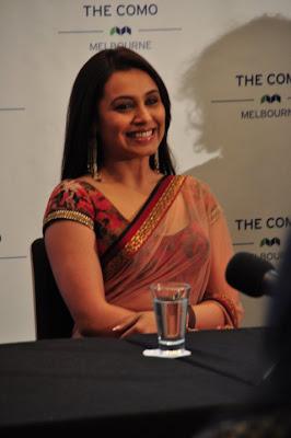 Rani Mukherjee at Indian Film Festival Sydney