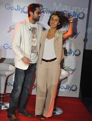 Abhay Deol at Godrej Gojiyo.com launch