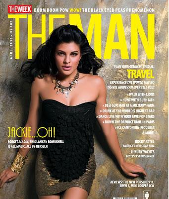 Jacqueline Fernandez on The Man Magazine