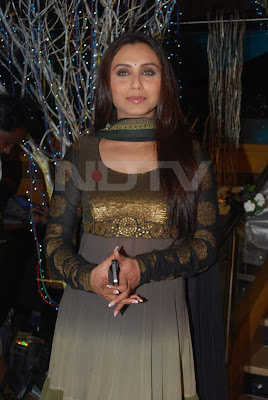 Rani Mukherjee at Prakash Raj's Wedding