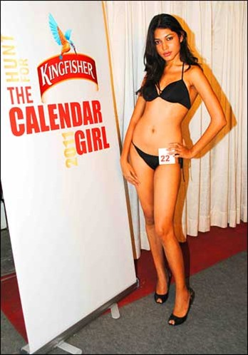 Kingfisher Calender Audition 2011 - HQ Photos