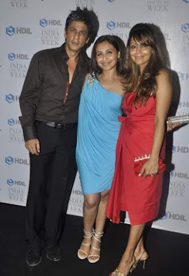 Rani Mukherjee at at HDIL Couture Week