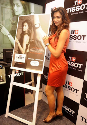 Deepika Padukone launches Tissot Watches