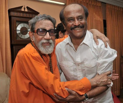 Rajinikanth meets Bal Thackeray