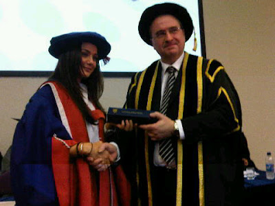 Preity Zinta at Oxford