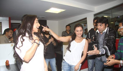 Rani Mukherji at Fever 104 FM