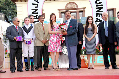 Shazahn Padamsee at Gitanjali Indian 1000 Guineas Show