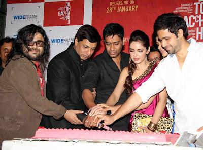 Shazahn Padamsee at Dil to Bacha Hai Jee Movie Music Launch show stills