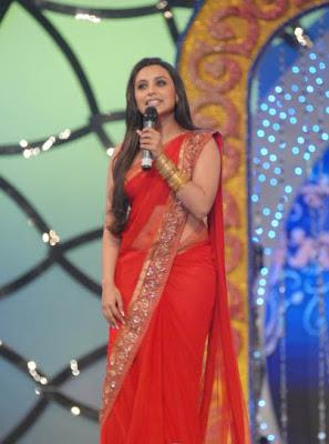 Rani Mukherji at Mumbai Police Show 2010