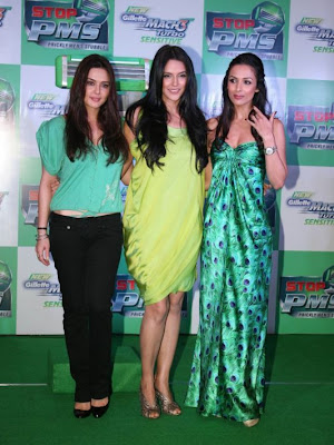 Preity Zinta at Gillette PMS Campaign Event