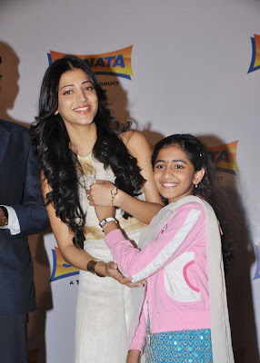 Shruti Hassan at the Launch of Sonata AOD Collection Of Watches