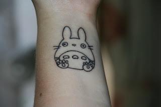 Anime Totoro tattoos
