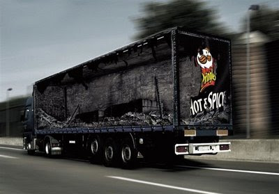 truck advert on spice