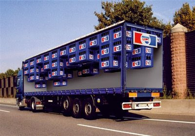 Advert of soda