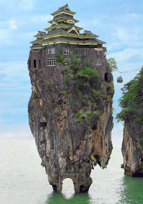 house on a rock
