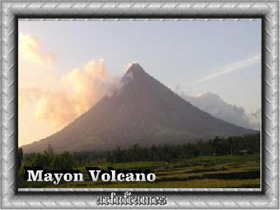 picture of Mt. Mayon